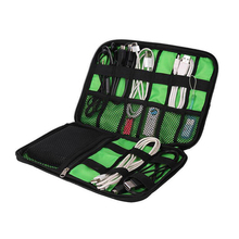 Travel Digital Accessories Organizer data bag USB SD card Data line headset mobile power Portable Storage package Cell phone bag