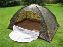 Free Shipping Outdoor Camouflage Hunting Blind Wildness Survival Equipment Summer Single Layer Waterproof Travel Tent
