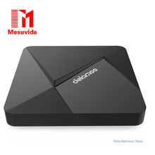Mesuvida D5 Smart TV Box 2G RAM 8G ROM Android 5.1 Set top boîte Rockchip 3229 Quad Core H.265 4 K x 2 K 2.4G WiFi Mini PC
