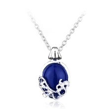 The Vampire Diaries Katherine Alloy Pendent Charm Necklace Nature Stone Fashion Pendants Cool Necklaces Movie Jewelry