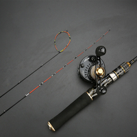 Titanium alloy slightly raft solid soft tip tip micro lead raft fishing rod telescopic rod travel refused to stick Free shipping