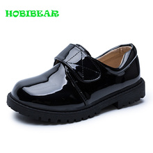 hot deal buy children dress shoes black casual kids boys shoes comfortable school performance shoes anti-slip boys party wedding casual shoes