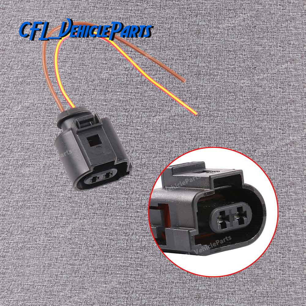 small resolution of detail feedback questions about 2 pin connector plug wiring harness cable socket 1j0973722a for vw beetle passat touareg cc for audi q5 a4 a6 on