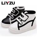 Niños zapatillas de deporte de gran/niños/niñas moda casual caminar shoes antideslizantes cómodos estudiantes shoes primavera/otoño 2017 nuevo