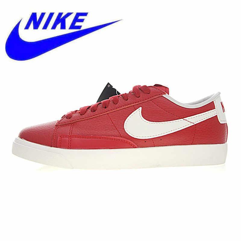 quality design 7aab0 67540 Original Nike Blazer Low Premium Men's and Women's Walking Shoes,  Red,Wear-resistant