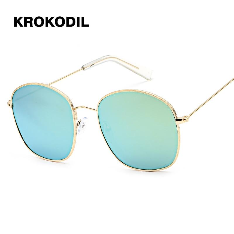 c488825b2b 2019 Sunglasses Women Oval Fashion Female Men Retro Reflective Mirror  Sunglasses men round Famous Brand Designer