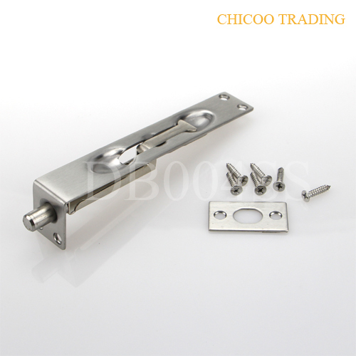 6 Inch L Type 304 Stainless Steel Latch Lever Action Flush