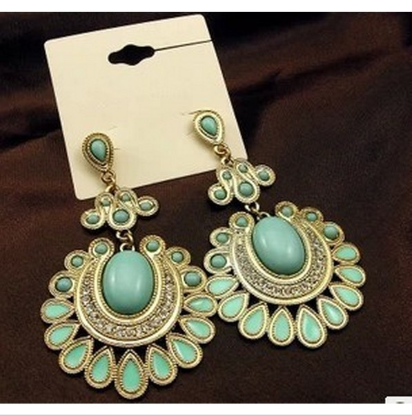 Free shipping~Fashion national style  drop earrings 10pair/lot