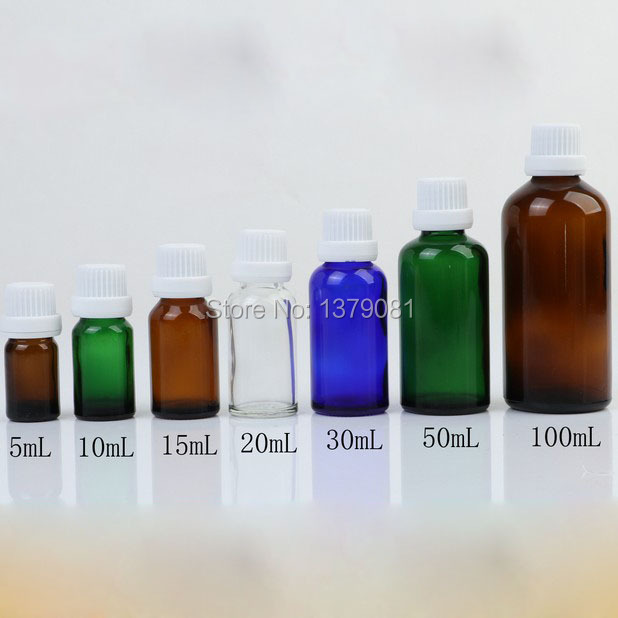 5ml,10ml,15ml,20ml,30ml,50ml,100ml Colorful Glass Bottle White Screw Cap,Essential Oil Bottle DIY Sample Vials Cosmetic Packing fcl wholesale 5 10 15 20 30 50 100ml empty blue glass essential oil bottle without cap