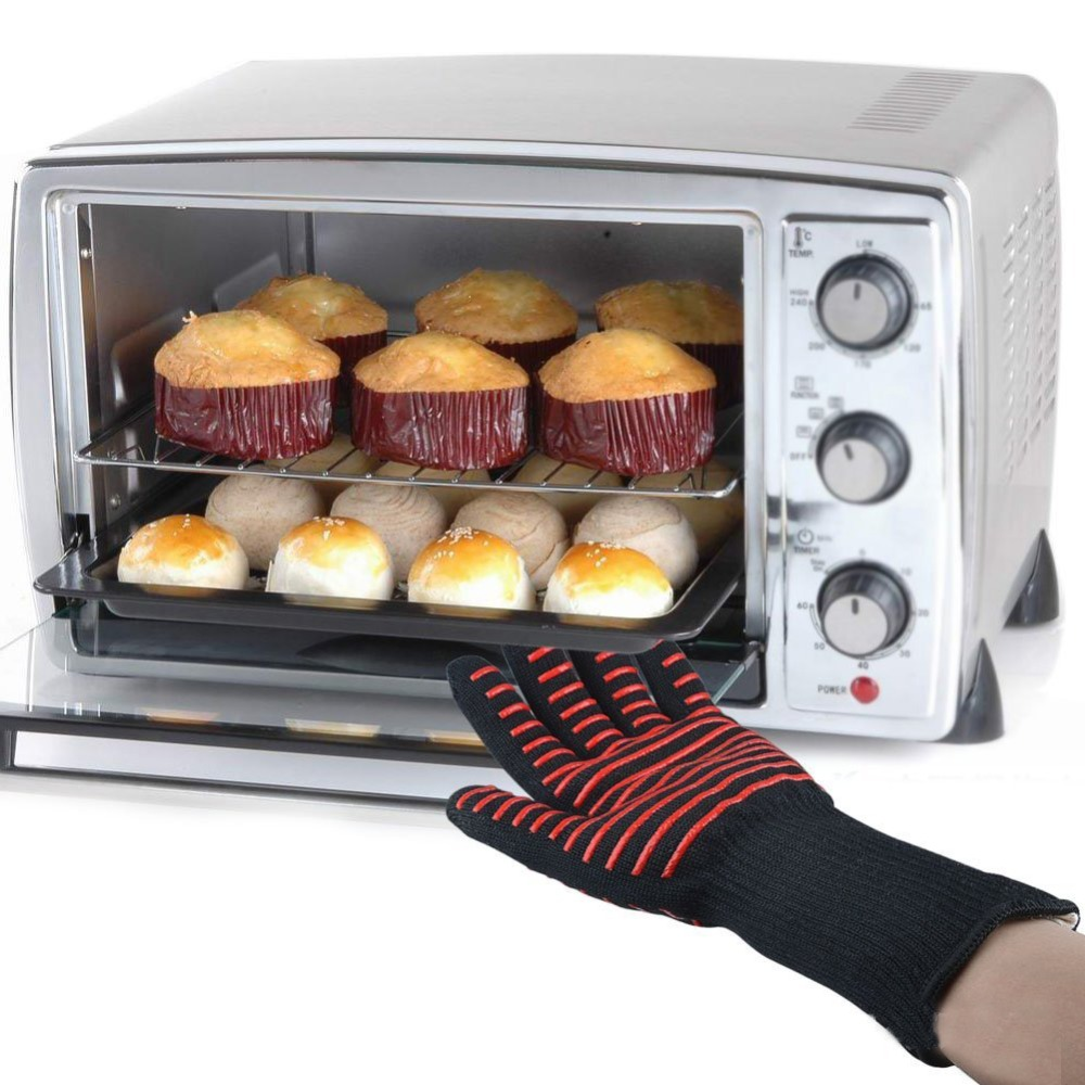 Aliexpress.com : Buy Kitchen Oven Mitts Microwave Oven Gloves Barbecue  Thermal Insulation Gloves Heat Resistant Kitchen Tools From Reliable Kitchen  Oven ...