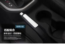 Keao For Hyundai Creta ix25 handbrake sticker cover interior Refit ABS chrome styling decoration products accessory