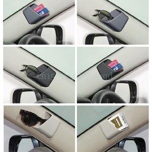 Image 2 - 2Pcs Universal Car Auto Accessories Glasses Organizer Storage Box Holder 3 Colors