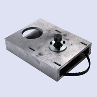 cnc router accessories Straight tooth belt gear box,gear box gear rack and synchronous wheel reducer box