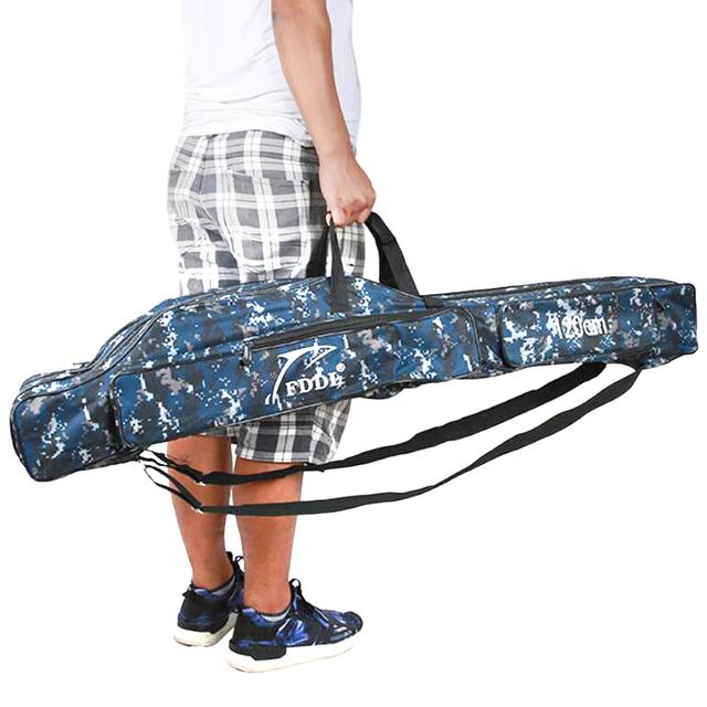 Canvas Foldable Fishing Rod Reel Bag