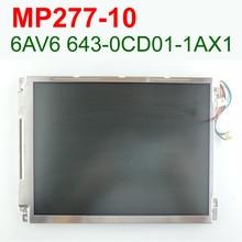 MP277 10 INCH LCD For SIMATIC PANEL 6AV6643-0CD01-1AX1 6AV6 643-0CD01-1AX1 Repair,HAVE IN STOCK,FAST SHIPPING