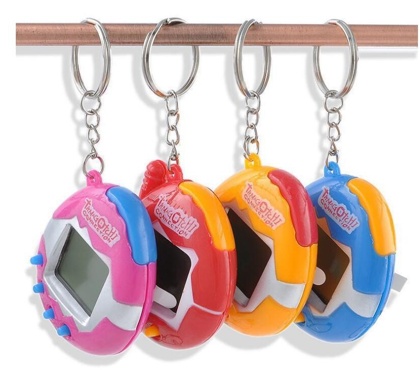 Random Colors 90s Nostalgic 49 Pets In One Virtual Cyber Pet Toy Funny Tamagotchi Electronic Pets Toys Gift