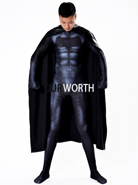 Newest Batman Costume 3D Print Spandex Batman Cosplay costume Male Superhero Costume Halloween Tight Zentai Suit  sc 1 st  AliExpress.com & Newest Batman Costume 3D Print Spandex Batman Cosplay costume Male ...