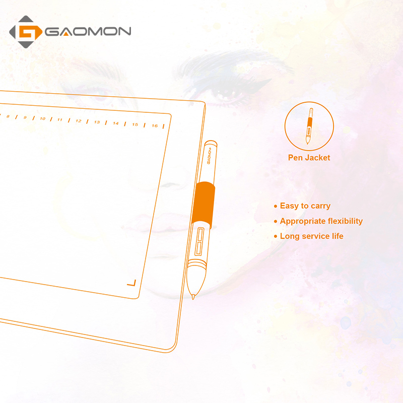 Profesionalna grafična tablica za risanje GAOMON M106K 10x6 palcev - Računalniška periferna oprema - Fotografija 5