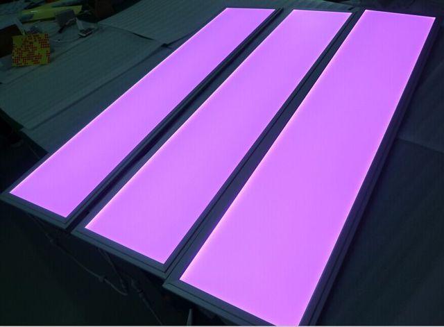 Livraison gratuite en amérique du nord 1200x300mm 12 V panneau LED rgb lumière 33 w 6 pcs/Lot utilisé pour les salles de danse et les grands théâtres