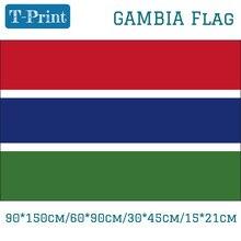 где купить Free shipping Gambia National Flag  90*150cm/60*90cm/30*45cm Car Flag 15*21cm 3x5ft Banners по лучшей цене