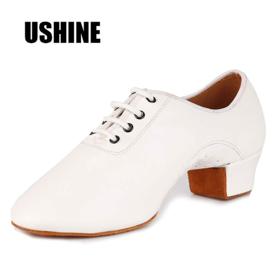 EU26-45 WX Black Red White PU Children Latin Ballroom Dance Shoes Latin Shoes Kids Boys Girls