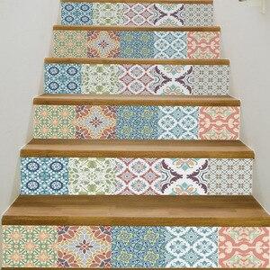 Image 5 - 6 шт., самоклеящиеся 3D Наклейки для лестницы