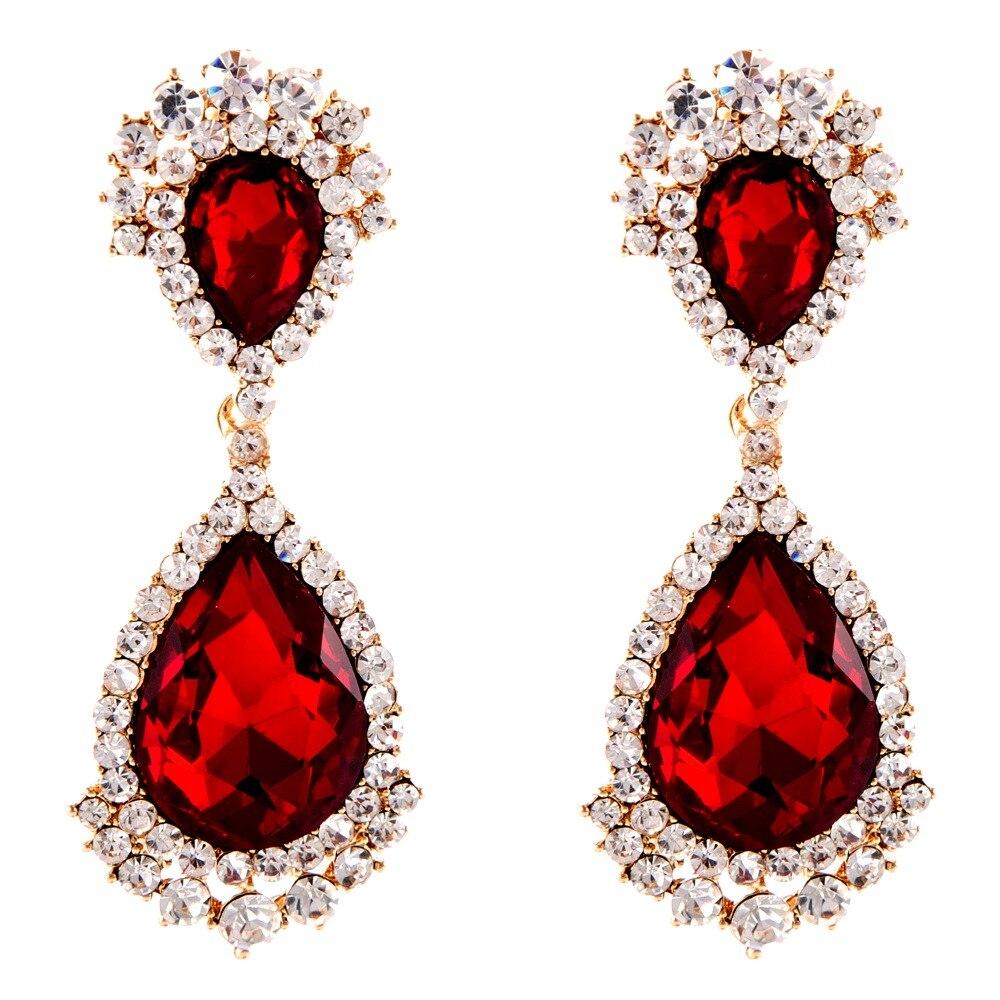 Online Get Cheap Ruby Red Earrings Aliexpress Com