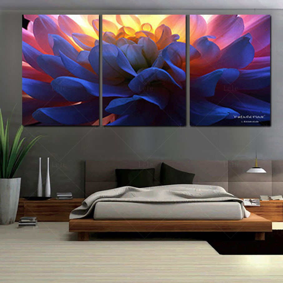 2017 Paintings Print Canvas Wall Art Orchids Decoration