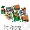 2017 Newest LEPIN 18008 Minecrafted Series The Village Model Building Blocks Classic Compatible Original 21128 Toy
