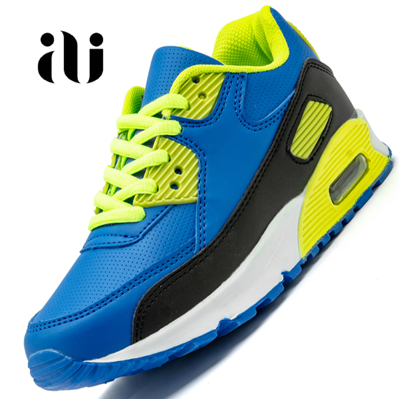 Spring New Kids Pu Leather Shoes Baby Girls Sport Sneakers Children Mesh Shoes Boys Fashion Casual Shoes Soft Brand Trainer 2019-in Sneakers from Mother & Kids