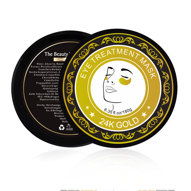 60pcs Collagen Eye Mask Under Eye Patches Gel 24K Gold Hydrogel Crystal Sleep Mask Sheet Pads Dark Circles Ageless Skin Care 3