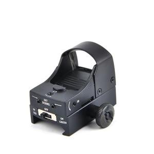 Image 5 - D III Sight Red Dot tüfek kapsam mikro nokta refleks holografik nokta Sight optik avcılık kapsamları Airsoft tüfek Mini nokta