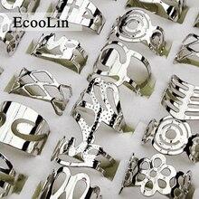 50pcs Wholesale lot jewelry ringfashion cool women silver Plated Enamel glaze alloy Rings LB129 free shipping
