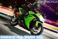 JOYCITY/1:12 Масштаб/Моделирование Литой модель мотоцикла игрушка/KAWASAKI Ninja 250/300 2014/Нежные дети игрушки или colllection