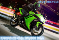 JOYCITY/1:12 Scale/Simulación de Fundición de juguete modelo de la motocicleta/KAWASAKI Ninja 250/300 2014/niños Delicados de juguetes o colllection