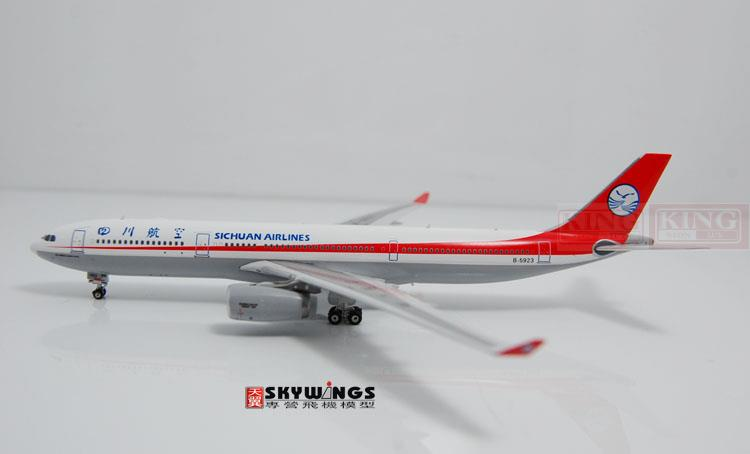 10755* Phoenix Sichuan Airlines B-5923 1:400 A330-300 commercial jetliners plane model hobby phoenix 11006 asian aviation hs xta a330 300 thailand 1 400 commercial jetliners plane model hobby