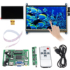 LCD Display 7 Inch 1024x600 Touch Screen LCD Module For Raspberry Pi 3 Model B HDMI