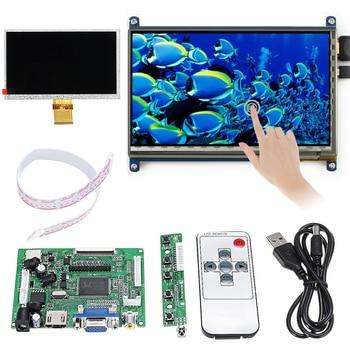 Pantalla LCD 7 pulgadas 600x1024 módulo LCD de pantalla táctil para Raspberry pi 3 Modelo B HDMI