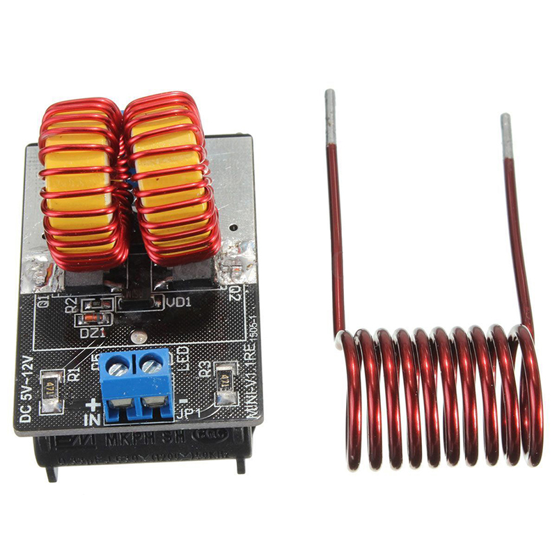 Image 2 - 5v 12v ZVS Induction Heating Power Supply Driver Board Module + Coil-in Power Supplys from Consumer Electronics