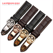 laopijiang Genuine Leather Watchband high end fashion watches accessories 19 20 21 22mm
