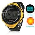 Unisex Solar multi-funcional Digital relógio de pulso Wateproof esportes relógios dos homens relógio esportivo masculino relojes relógio