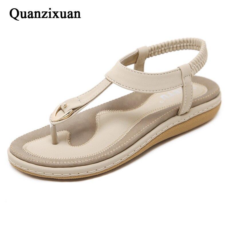 rose Quanzixuan Sandales Flip Chaussures De Flops D'été