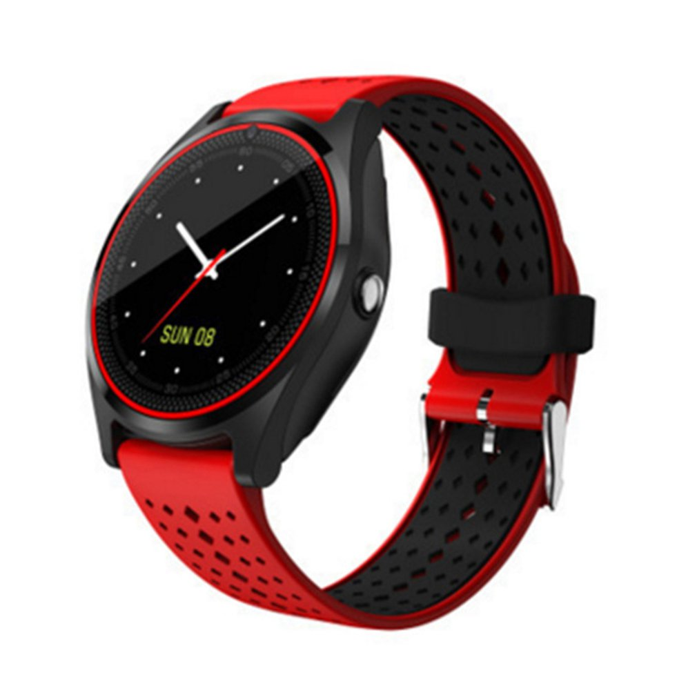 V9 Smart Watch Round Screen Fashion Sports Gps Step Positioning Phone Call Smartband For Women Men Simple Wristwatches ClockV9 Smart Watch Round Screen Fashion Sports Gps Step Positioning Phone Call Smartband For Women Men Simple Wristwatches Clock