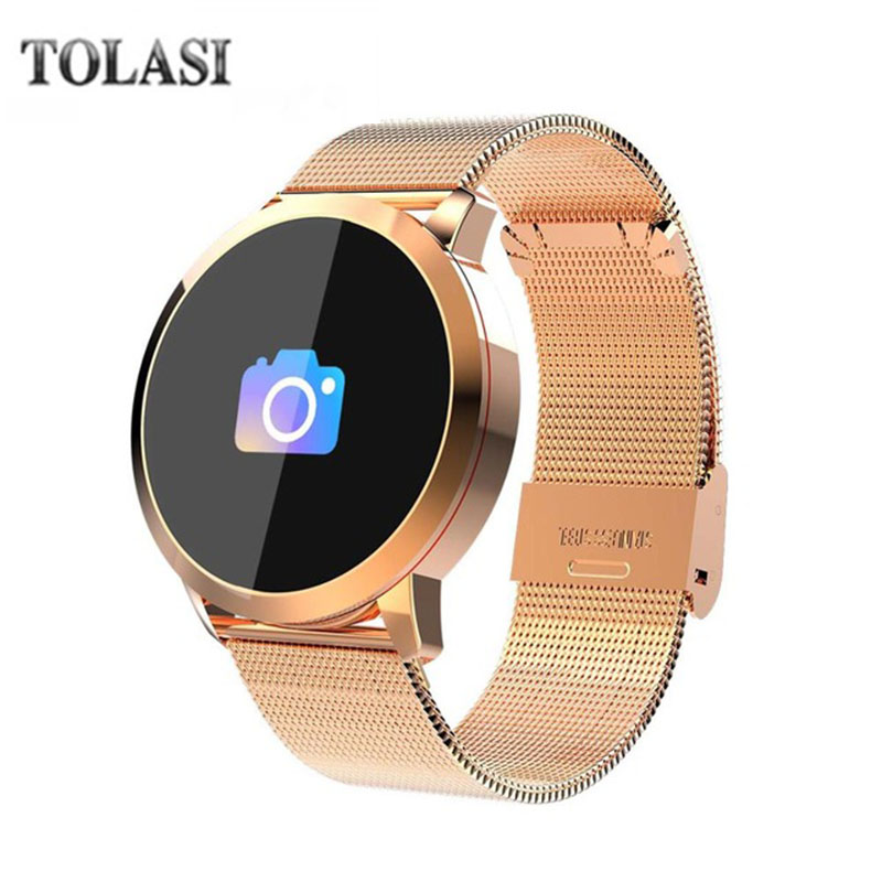 Q8 Fashion Smart Watch Waterproof Long Standby Pedometer Heart Rate Monitor Sleep Reminder Remote Camera Game стоимость