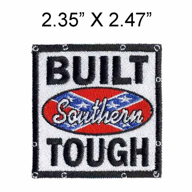 The Southern Embroidery Patch 235 Wide Frame Bordersticker