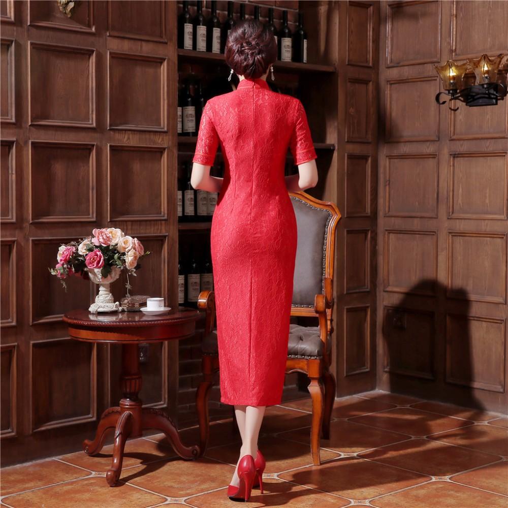 1985c4da6c Shanghai Story Sleeveless national trend chinese style faux silk dress long  cheongsam china Qipao chinese traditional clothingUSD 27.71 piece