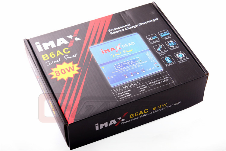 Freeshipping IMAX B6AC Digital LCD Lipo NiMH Intelligent RC Battery Balance Charger B6 hot sale imax b6 ac b6ac lipo 1s 6s nimh 3s rc battery balance charger for rc toys models