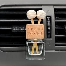 6ml Car Air Freshener Ornament Perfume Empty Bottle Pendant Auto Clip Essential Oil Excluded Universal for Cars Home Office