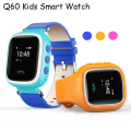 ALANGDUO GPS Smart Watch Wristwatch SOS Call Location Finder Locator Device Tracker for Kid Safe Anti Lost Monitor Baby Gift Q60