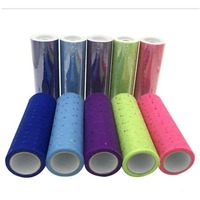 9 M Lot 15cm Width Nylon Glitter Sequins Tulle Roll Wedding Party DIY Decoration Tutu Skirt